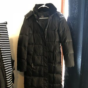 Esprit long down winter coat